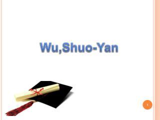 Wu,Shuo -Yan