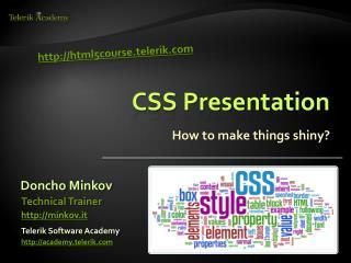 CSS Presentation