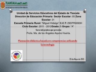 Unidad de Servicios Educativos del Estado de Tlaxcala