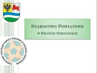 Starostwo Powiatowe w Krośnie Odrzańskim