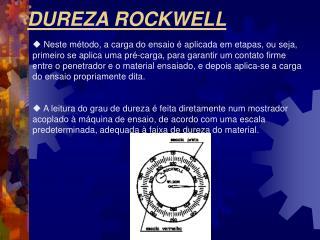 DUREZA ROCKWELL