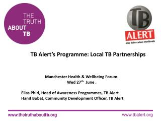 TB Alert's Programme: Local TB Partnerships