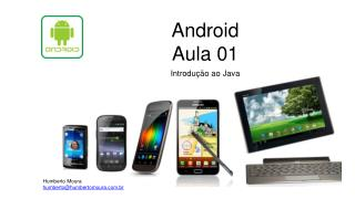 Android Aula 01