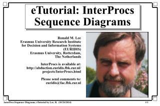 eTutorial: InterProcs Sequence Diagrams