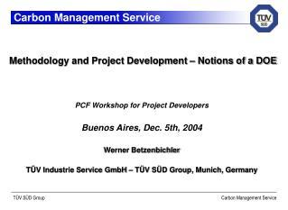 Carbon Management Service