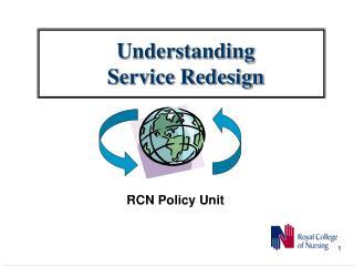 Understanding Service Redesign