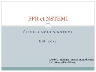 FFR et NSTEMI