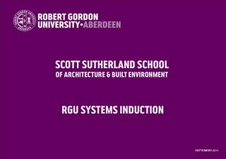Scott Sutherland School of Architecture & Built Environment