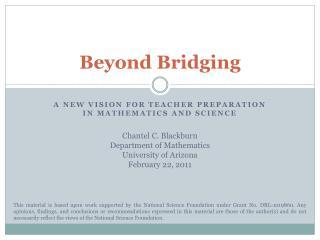Beyond Bridging