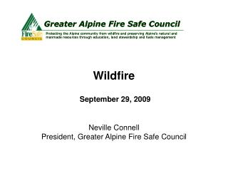 Wildfire September 29, 2009