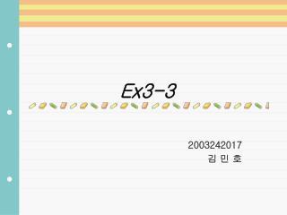 Ex3-3