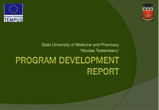 Program development report