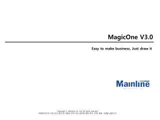 MagicOne V3.0