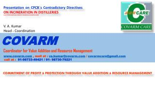 commitment of profit & protection through value addition & resource management