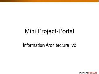 Mini Project-Portal