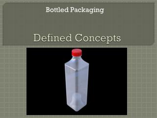 Defined Concepts
