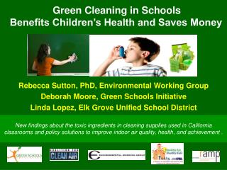 Green Cleaning in Schools Benefits Children's Health and Saves Money