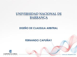 UNIVERSIDAD NACIONAL DE BARRANCA