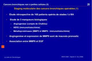 Cancers bronchiques non à petites cellules (5)