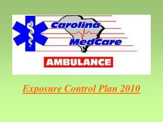 Exposure Control Plan 2010