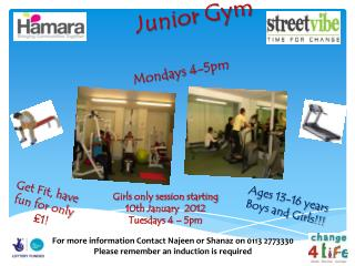 Junior Gym