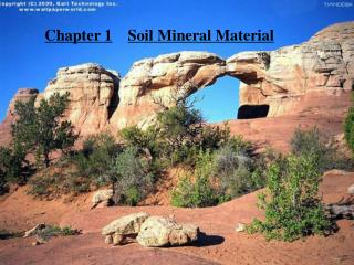 Chapter 1 Soil Mineral Material
