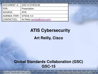 ATIS Cybersecurity