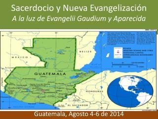 Sacerdocio y Nueva Evangelización A la luz de Evangelii Gaudium y Aparecida