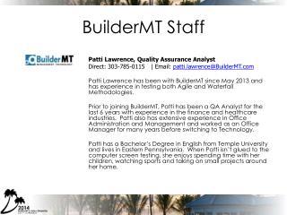 BuilderMT Staff