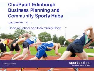 ClubSport Edinburgh Business Planning and Community Sports Hubs