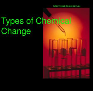 Types of Chemical Change