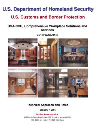U.S. Department of Homeland Security U.S. Customs and Border Protection