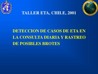 TALLER ETA, CHILE, 2001