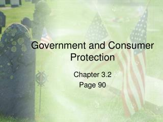 Government and Consumer Protection