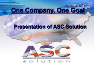 One Company, One Goal