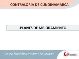 CONTRALORIA DE CUNDINAMARCA