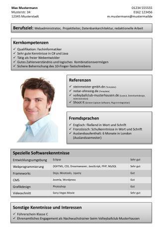 Kernkompetenzen Qualifikation: Fachinformatiker Sehr gute Kenntnisse in C# und Java