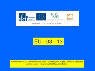 EU - 03 - 13