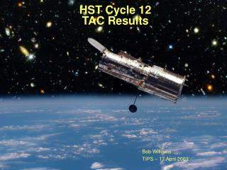 HST Cycle 12 TAC Results