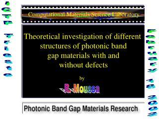 Computational Materials Science Laboratory