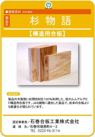 【 構造用合板 】