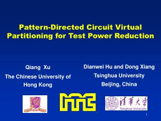 Pattern-Directed Circuit Virtual Partitioning for Test Power Reduction