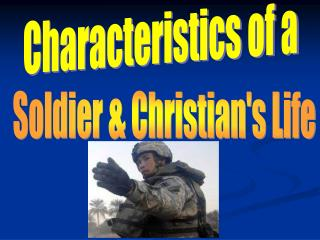 Characteristics of a