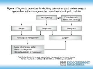 Filetti S et al. (2006) Nonsurgical approaches to the management of thyroid nodules