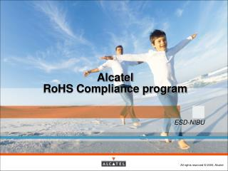 Alcatel RoHS Compliance program