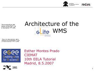 Architecture of the gLite WMS