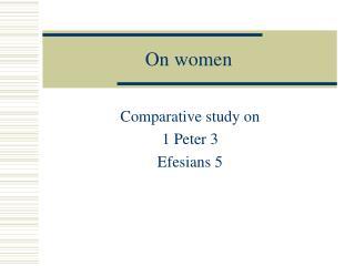 On women