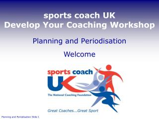 sports coach UK  Develop Your Coaching Workshop
