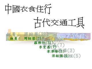 組員: 周詰蓉 (21) 羅樂怡 (31) 李宏基 (7) 章澤華 (3) 梁敏恆 (5)