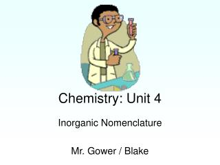 Chemistry: Unit 4